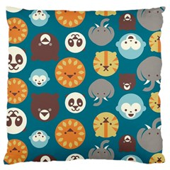 Animal Pattern Large Cushion Case (Two Sides)