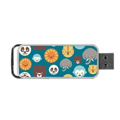 Animal Pattern Portable USB Flash (Two Sides)