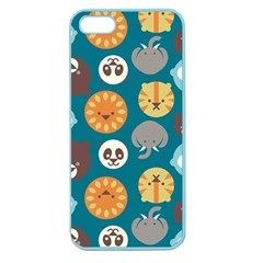 Animal Pattern Apple Seamless iPhone 5 Case (Color)