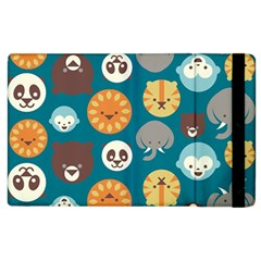 Animal Pattern Apple iPad 2 Flip Case