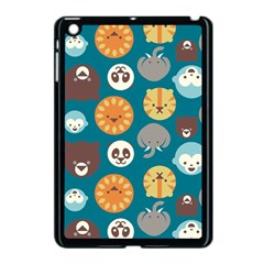 Animal Pattern Apple iPad Mini Case (Black)
