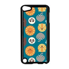 Animal Pattern Apple iPod Touch 5 Case (Black)