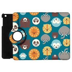 Animal Pattern Apple iPad Mini Flip 360 Case