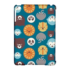 Animal Pattern Apple iPad Mini Hardshell Case (Compatible with Smart Cover)