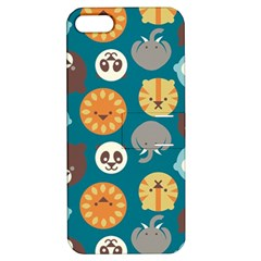 Animal Pattern Apple iPhone 5 Hardshell Case with Stand