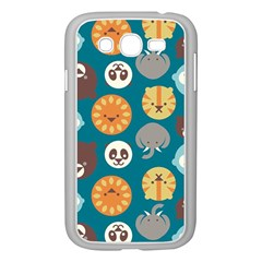 Animal Pattern Samsung Galaxy Grand DUOS I9082 Case (White)