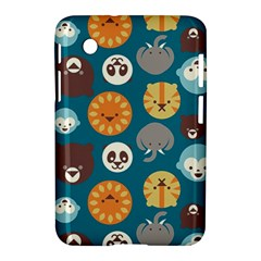 Animal Pattern Samsung Galaxy Tab 2 (7 ) P3100 Hardshell Case