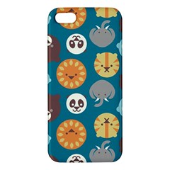 Animal Pattern iPhone 5S/ SE Premium Hardshell Case