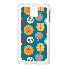Animal Pattern Samsung Galaxy Note 3 N9005 Case (White)