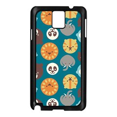 Animal Pattern Samsung Galaxy Note 3 N9005 Case (Black)
