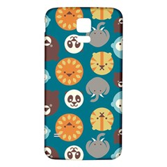 Animal Pattern Samsung Galaxy S5 Back Case (White)