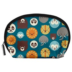 Animal Pattern Accessory Pouches (Large)