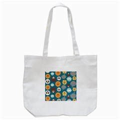 Animal Pattern Tote Bag (White)
