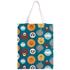 Animal Pattern Classic Light Tote Bag