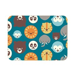Animal Pattern Double Sided Flano Blanket (Mini)