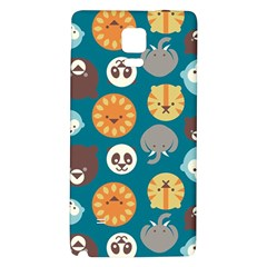 Animal Pattern Galaxy Note 4 Back Case