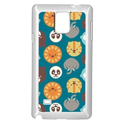 Animal Pattern Samsung Galaxy Note 4 Case (White)