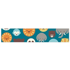 Animal Pattern Flano Scarf (Small)