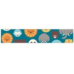 Animal Pattern Flano Scarf (Large)