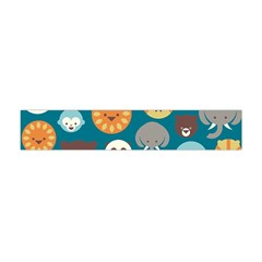 Animal Pattern Flano Scarf (Mini)