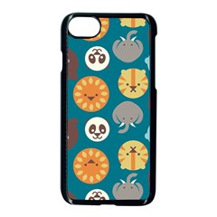 Animal Pattern Apple iPhone 7 Seamless Case (Black)