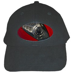 Auto Red Fast Sport Black Cap