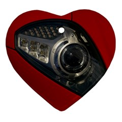 Auto Red Fast Sport Ornament (Heart)