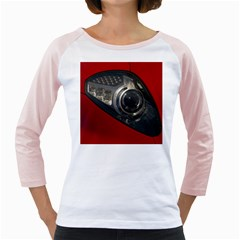 Auto Red Fast Sport Girly Raglans