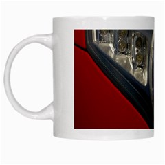 Auto Red Fast Sport White Mugs