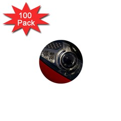 Auto Red Fast Sport 1  Mini Buttons (100 pack)