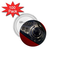 Auto Red Fast Sport 1.75  Buttons (100 pack)