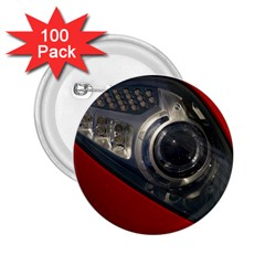 Auto Red Fast Sport 2.25  Buttons (100 pack)