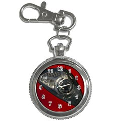 Auto Red Fast Sport Key Chain Watches