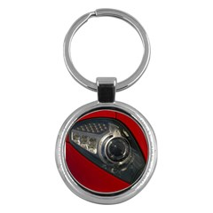 Auto Red Fast Sport Key Chains (Round)