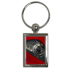 Auto Red Fast Sport Key Chains (Rectangle)
