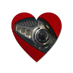 Auto Red Fast Sport Heart Magnet
