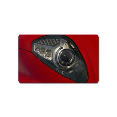 Auto Red Fast Sport Magnet (Name Card)
