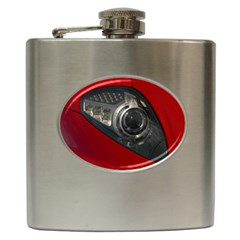 Auto Red Fast Sport Hip Flask (6 oz)