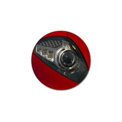 Auto Red Fast Sport Golf Ball Marker