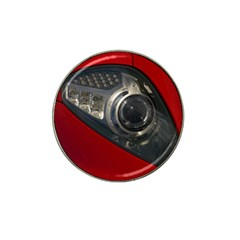 Auto Red Fast Sport Hat Clip Ball Marker (10 pack)