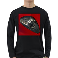 Auto Red Fast Sport Long Sleeve Dark T-Shirts