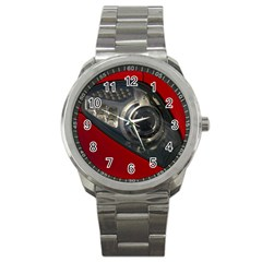 Auto Red Fast Sport Sport Metal Watch