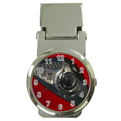 Auto Red Fast Sport Money Clip Watches