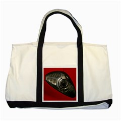 Auto Red Fast Sport Two Tone Tote Bag