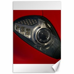 Auto Red Fast Sport Canvas 24  x 36