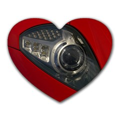 Auto Red Fast Sport Heart Mousepads