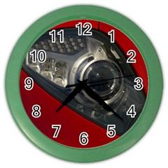 Auto Red Fast Sport Color Wall Clocks