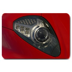 Auto Red Fast Sport Large Doormat