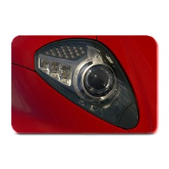 Auto Red Fast Sport Plate Mats