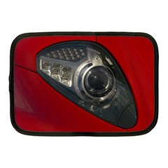 Auto Red Fast Sport Netbook Case (Medium)
